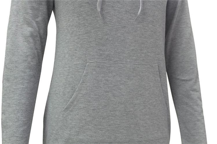 Femmes Printemps Automne Gris Longue Capuche Robe À Manches Longues Casual Lâche À Capuche Sweat-Shirts Pullovers Sudaderas Mujer DHL 171008