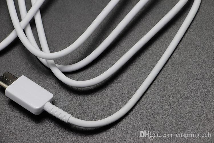 Original Cabo USB EP-DN930CWE 1 M branco Genuine Para Samsung nota 7 Tipo C 3.1 cabo Carregador Rápido Data Linha Adaptador de Cabo de Sincronização nova chegada