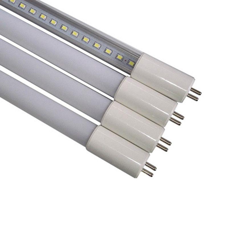 1 stücke T5 Röhre 1ft 6 Watt 2ft 10 Watt Integrierte Led-röhren T5 24 LEDs 48 LEDs SMD2835 Führte Leuchtstofflampen 220 V 240 V Freies verschiffen