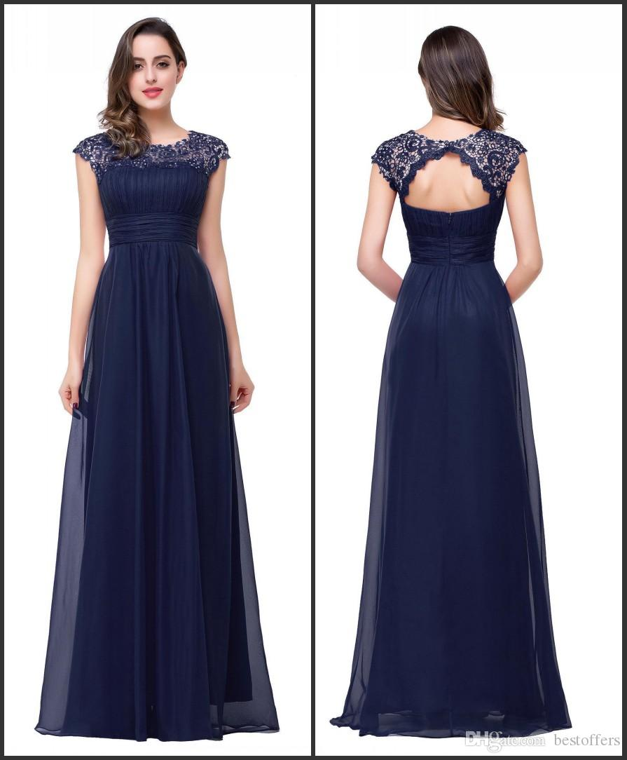 Navy blue gowns images galleries with for Navy blue wedding dress