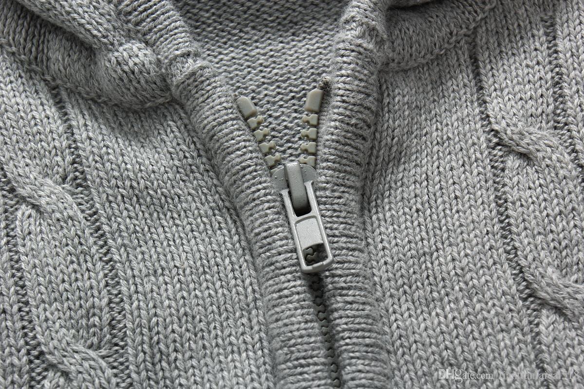 2018 nouvelle haute qualité mile wile polo marque hommes torsion pull en coton pull pull pull pull pull livraison gratuite g7132