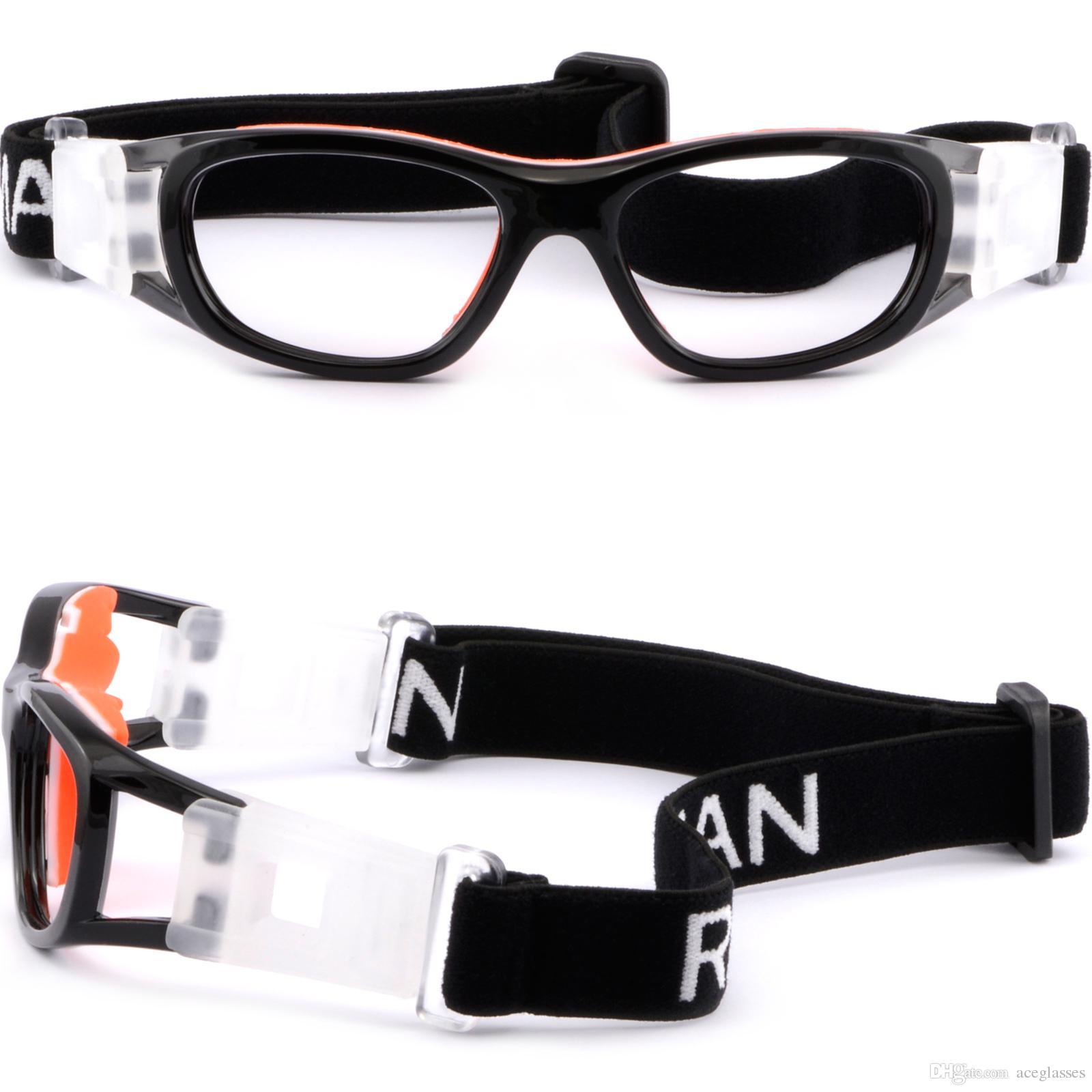 182661a56d Compre Gafas De Protección Deportiva Para Niños Gafas Graduadas Envolver  Alrededor De Las Correas Negro A $36.5 Del Aceglasses | DHgate.Com