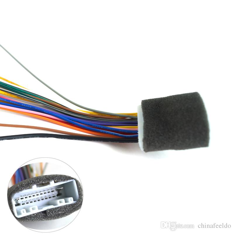 LEEWA 20Pin Car Audio Stereo Wiring Harness Adapter For Nissan/Subaru/Infiniti Install Aftermarket CD/DVD Stereo SKU#:2938