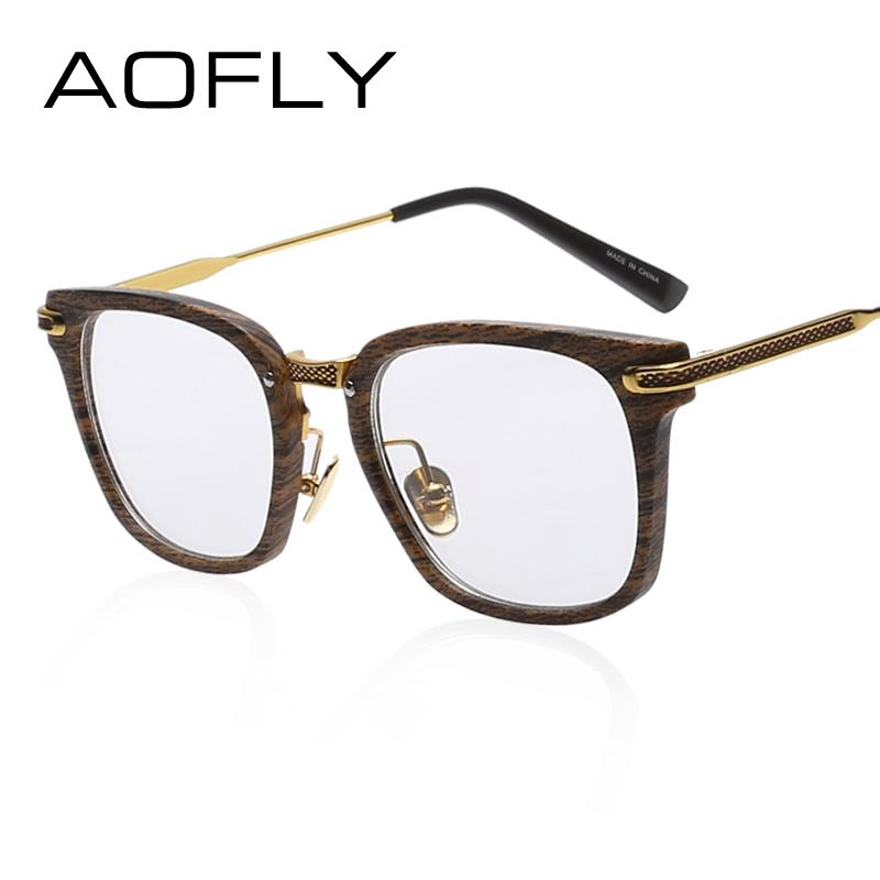 af27463aea 2019 Wholesale AOFLY Fashion Newest Style Frame Plain Eyeglass Frame Optics  Clear Reading Glasses Trendy Goggles For Men Women Oculos Feminino From ...