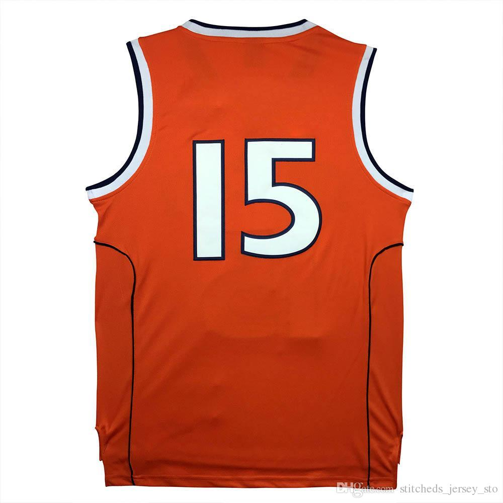 5dc32af3f 2017 Cheap University 15 Carmelo Anthony Jersey Cheap Throwback Jerseys  Stitched Embroidery Logos S 2xl Orange .