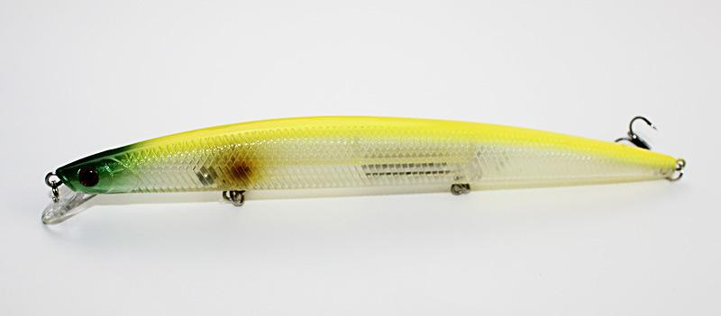 New Plastic Crank Fishing lures Minnow Laser Big artificial Bait with 3D eyes 18cm 26g Hard lure