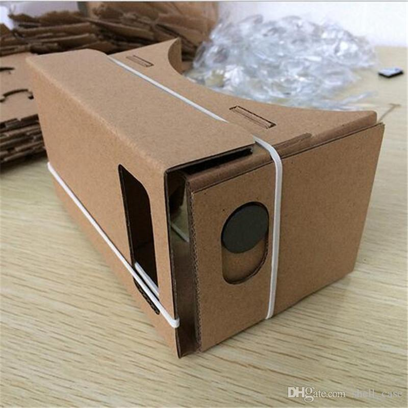 a54eea48c731 DIY 3D Glasses Google Cardboard 1.0 VR Box Virtual Reality Glasses Mobile  Phone 3D Viewing Glasses for Iphone 7 6 6s Plus Free DHL Shipping Online  with ...