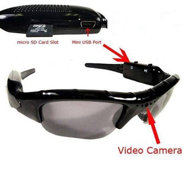 Sunglasses Camera portable auido video recorder Sunglasses DVR Support TF Card Eyewear Glasses Camera Security Surveillance mini Camcorder