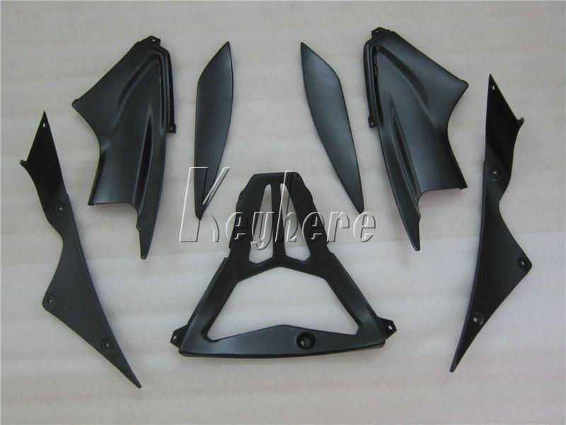 Kit carénage pièces de rechange pour YAMAHA R6 2003 2004 2005 Kit carénage noir mat YZF R6 03 04 05 IY05