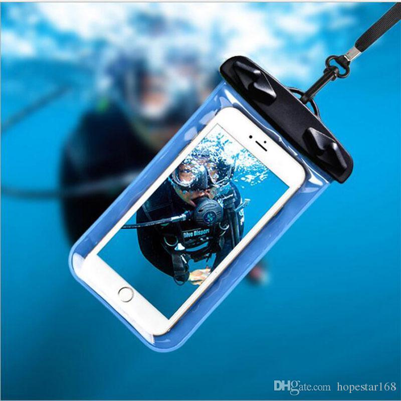 Para Iphone A prueba de agua Deportes Funda para correr Brazalete para correr Bolsa de entrenamiento Armband Holder Pounch Para iphone Celular Teléfono móvil Brazo Band Band