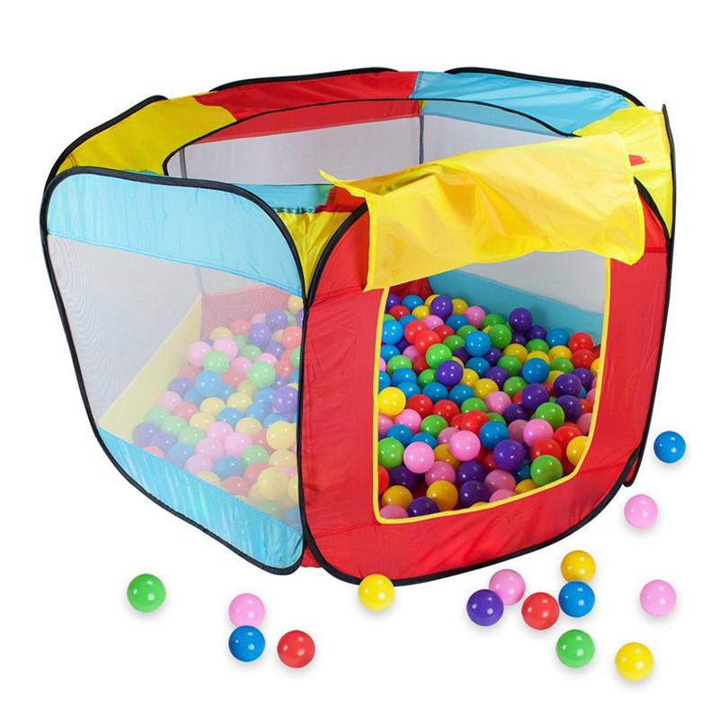 ball pit for babies. baby play house indoor and outdoor easy folding ball pit hideaway tent hut toys for children\u0027s christmas gift toddler childrens babies