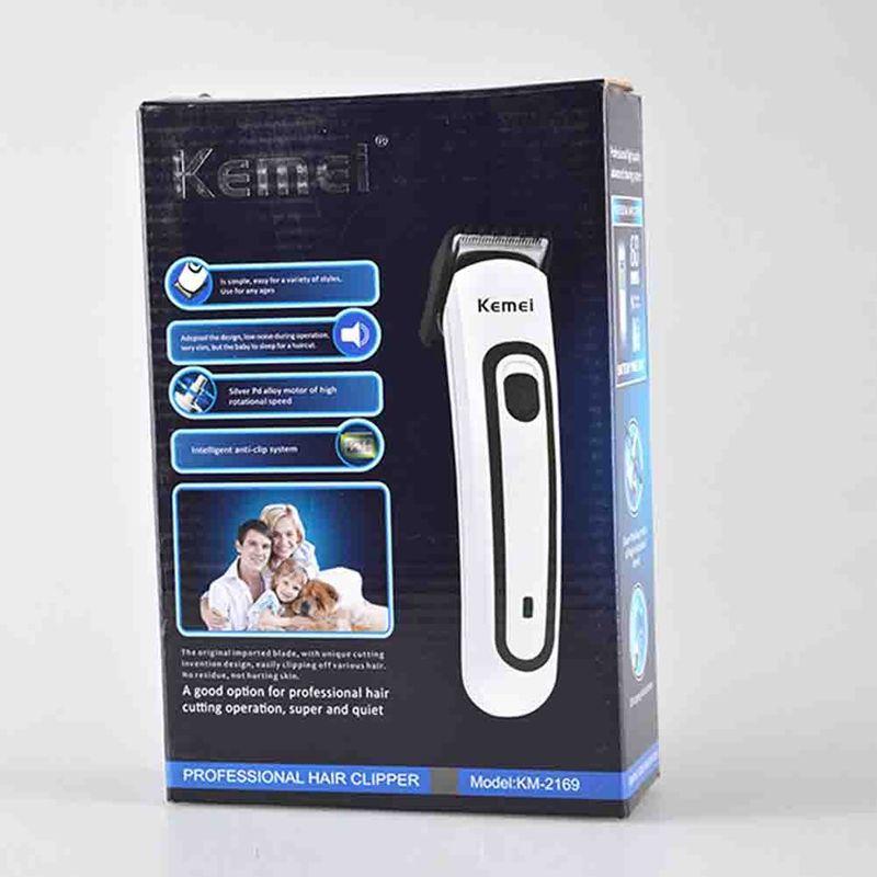 Cortador de pelo eléctrico recargable profesional Mens Kids Hair Clipper máquina de corte de pelo Enchufe de la UE