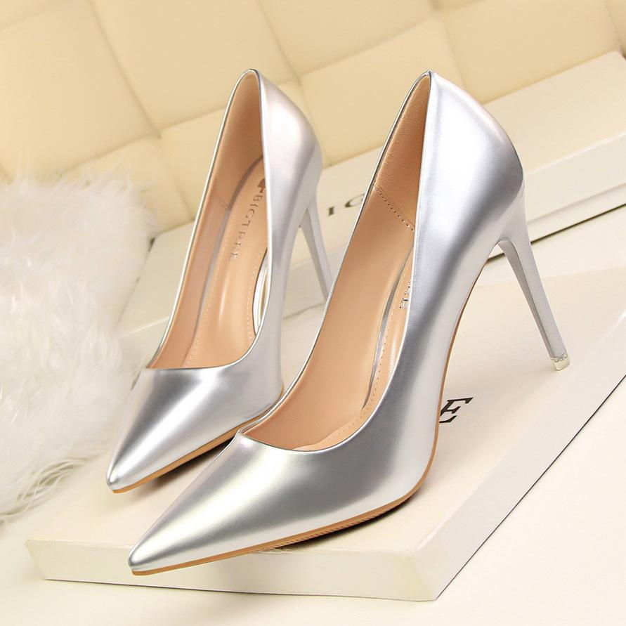 31000865b02c Elegant Lady Dress Shoes Sexy Women Pumps Heels PU Pointed Toe Thin High  Heels Festival Party Wedding Shoes Formal Pumps GWS124 Pink Shoes Munro  Shoes From ...