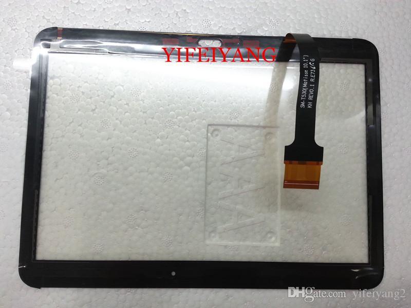 Eine qualität 100% Test Für Samsung Galaxy Tab 4 10,1 SM-T530 T531 T535 T530 touchscreen digitizer lcd glasfrontplatte