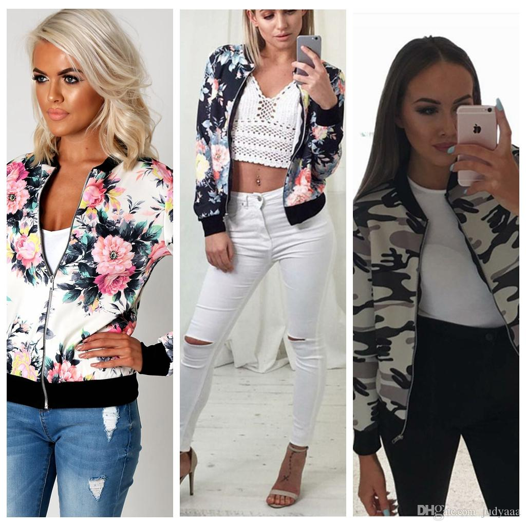 Ladies Bomber Style Jacket Online | Ladies Bomber Style Jacket for ...