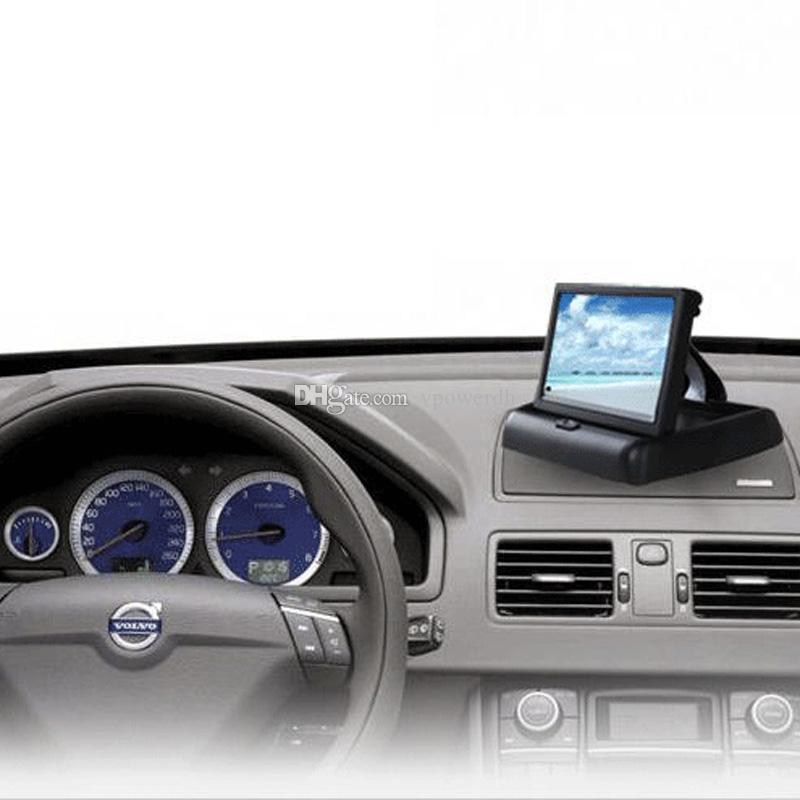 Exposição do monitor da opinião traseira do reverso do carro da dobra de HD 4,3