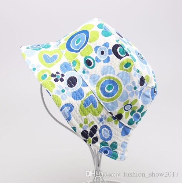 Neues 36 Farben-Kind-Blumen-Wannen-Hut Temperament Freizeit Sunny Kind Sonnenhut für 2-6 Jahre alte Kinder