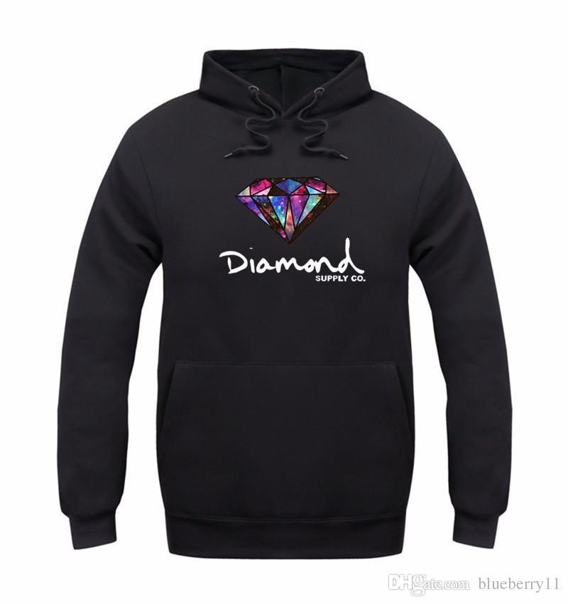 Diamantversorgung Co Hoodie Frauen Street Fleece Warme Sweatshirt Winter Herbst Mode Hip Hop Pullover