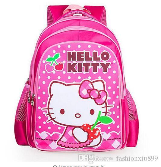81ec2f2407e7 Baby Girls  Backpack Child School Bag Cartoon Hello Kitty Backpack Children  Schoolbag For Kid Mochila Infantil Hype Backpack Rucksack Backpack From ...