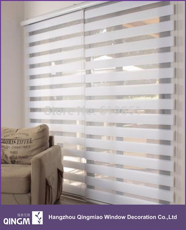 2017 Wholesale Home Decoration Day And Night Combine Zebra Blinds Fashionable Curtains For Living Room From Elecc 2171