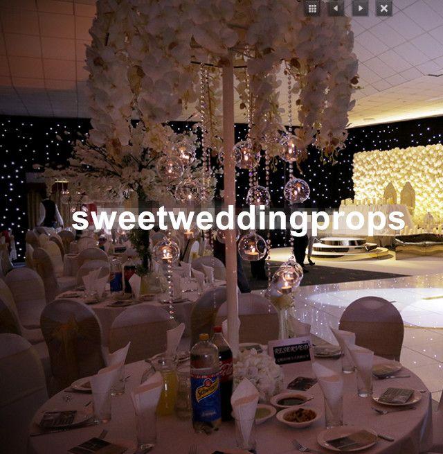 정신 병원 전용 결혼식 통로 표시 수국 꽃없이 스탠드 꽃 스탠드