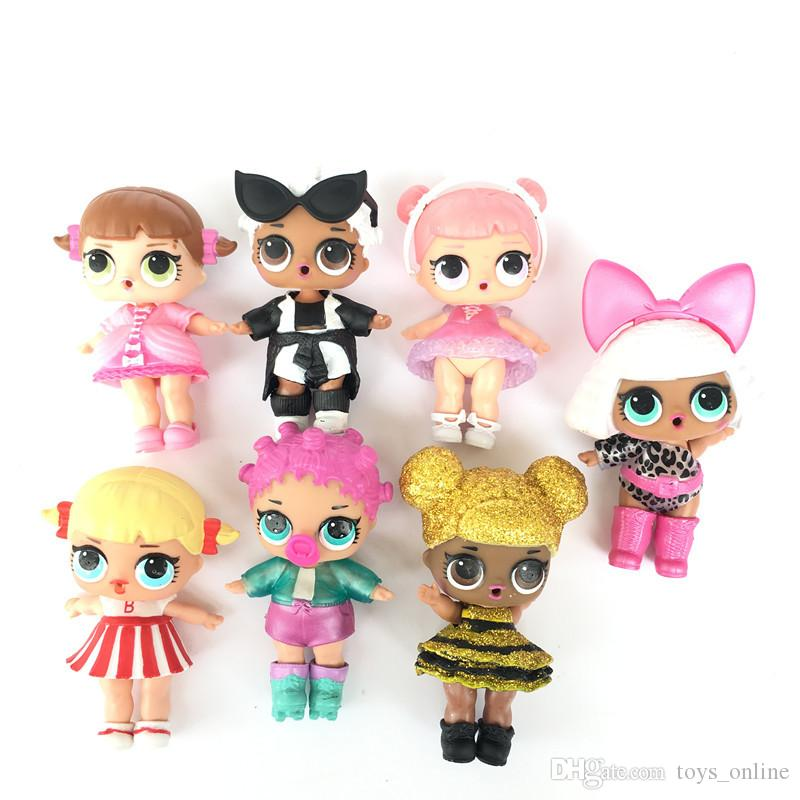 8 Styles Lql Lol Surprise Dolls Baby Kids Mini Dolls Toys
