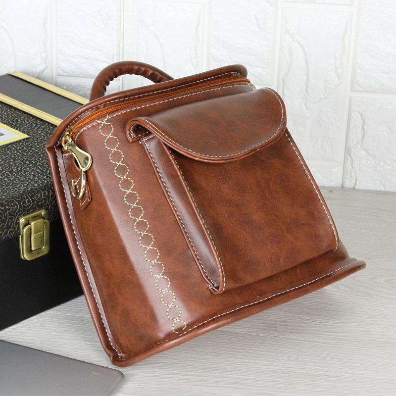 bcfe08a0c0 Student Backpack For Teenage Girls Handbag Shoulder Bags Casual Travel Woman  PU Leather Rucksack Bag College School Bags Back Pack Backpack School PU ...