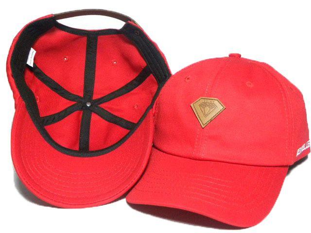 10e6f00a8a1fb1 6 Panel Ball Cap Wine Red Diamond Hat Baseball HipHop Snapback Sport ...