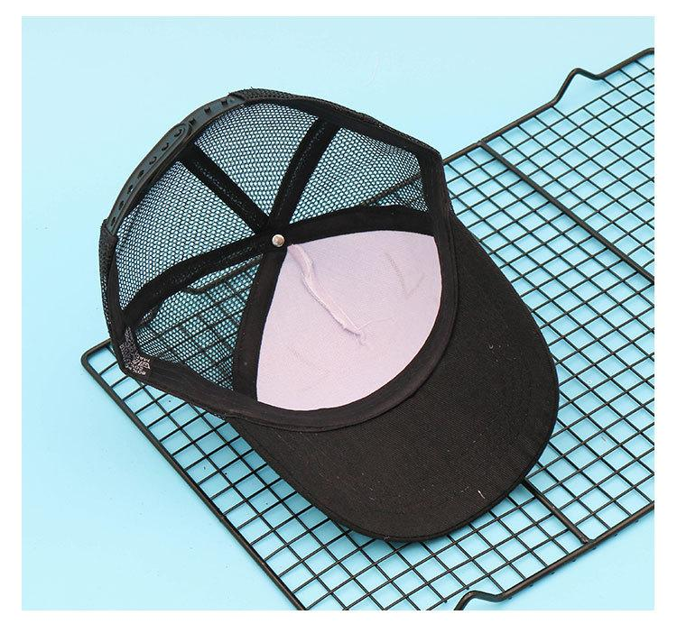 Boy Girl Baseball Hat Blink Printed Small Mesh Sun Hats Adjustable Snapback Toddler Sun Casquette Fashion Accessories
