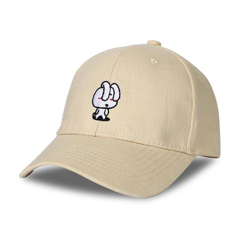 ea8ce7561ae Rabbit Summer Baseball Cap Women Cartoon Embroidery Brand Dad Hat Candy  Color Snapback Hiphop Trucker Cap Men Gorro Bone Dad Hat Embroidery Snapback  Hats ...