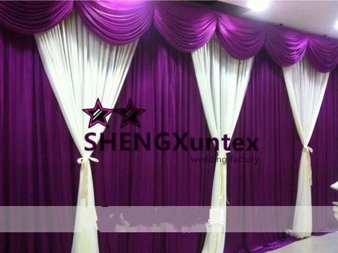 New Design Beautiful Looking Wedding Backdrop Curtain