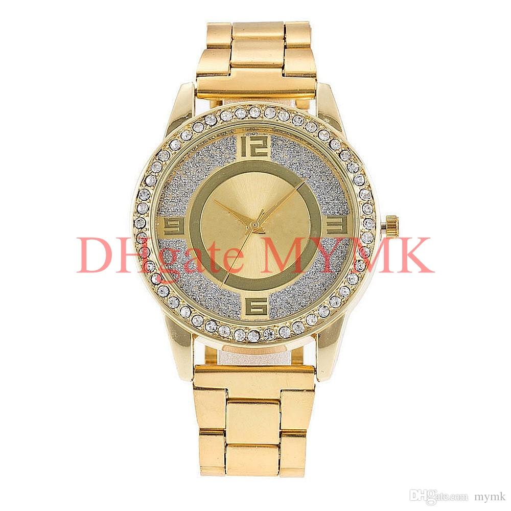 New York Fashion watches quartz watch Brand new Diamond crystal wristwatches for men women Silver/Gold/Rose MW01