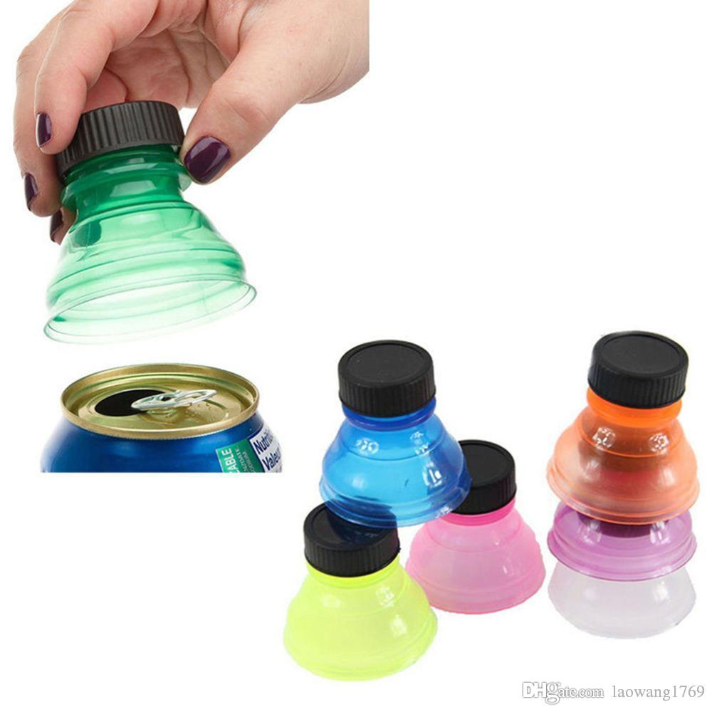 2018 New Colorful Tops Reuse Snap Bottle On Pop Soda Can