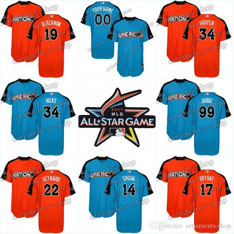 cccc172ca ... new york yankees jersey men youth women aaron judge all stitched 2017  99 . ...