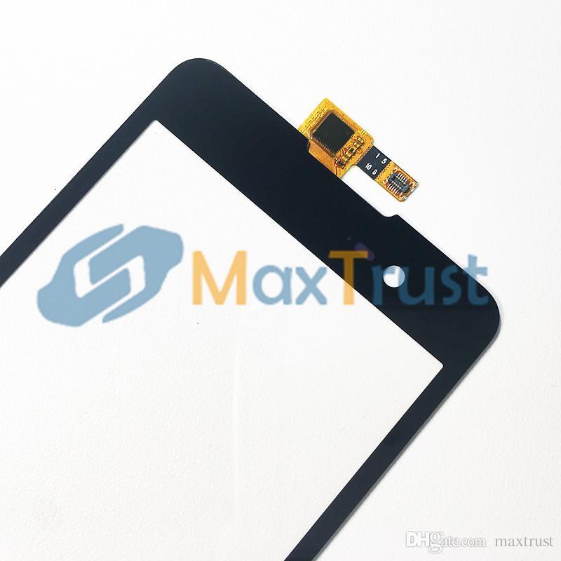 Wiko Lenny 2 Lenny2 Dokunmatik Ekran Sayısallaştırıcı Ön Dokunmatik Cam Panel Sensörü Siyah Rengi için En Kaliteli 5.0