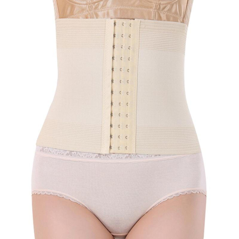 382ec34b6 2019 Wholesale Women Hot Body Shaper Slim Waist Tummy Girdle Belt Waist  Cincher Underbust Control Corset Firm Waist Trainer Slimming Belly From  Oott