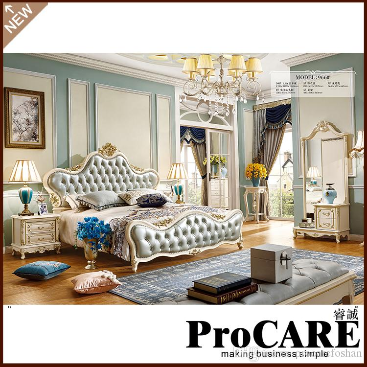 2018 Luxury Bedroom Furniture Sets Bedroom Furniture China Deluxe Five  Piece Suit From Procarefoshan, $2683.42 | Dhgate.Com