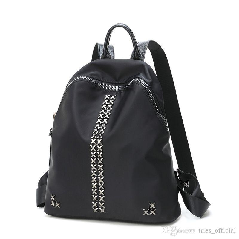 Genuine Leather School Bag For Teen Girls And Ladies Packback ...