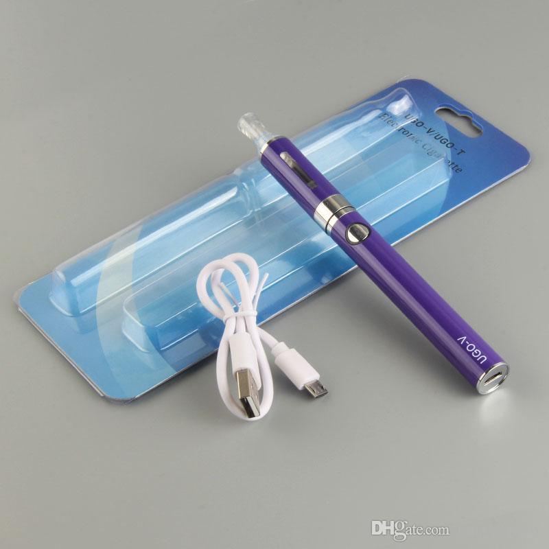 Стартовые наборы eVod Blister Packs с нижним зарядным устройством Micro USB 650/900 мАч UGO V Сквозная батарея MT3 BCC Бак для электронных сигарет Испаритель