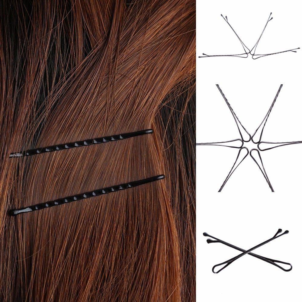/ set grampos de cabelo Bobby pinos de cabelo Invisible Curly Wavy Grips Salon Barrette Grampos vendas e ofertas quentes