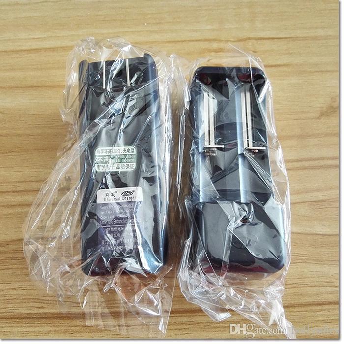 Universal Nanfu dual slot 18650 10440 16340 14500 26650 de lítio carregador de bateria 18650 Li-ion Battery Charger DHL livre