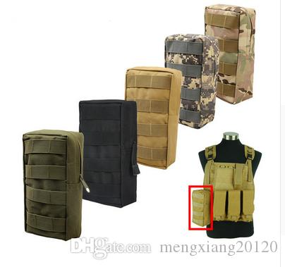 Vest Pouch Accessory Tool Waist Bag Nylon Molle Utility Fanny Pack Paintball Outdoor Hunting Bags