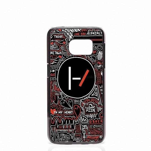 the latest 47382 c8fdc Twenty One Pilots Phone Covers Shells Hard Plastic Cases For Samsung Galaxy  S4 S5 MINI S6 S7 edge S8 S8 Plus