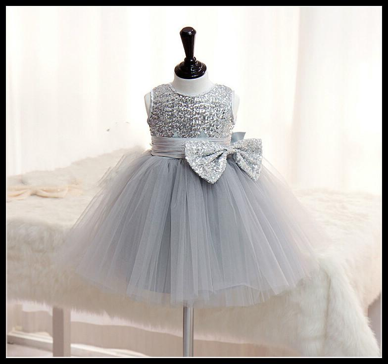 Fashioin silver flower girl dresses for weddings little girls fashioin silver flower girl dresses for weddings little girls pageant dresses short free custom made 2 14 age mint green flower girl dresses navy blue mightylinksfo