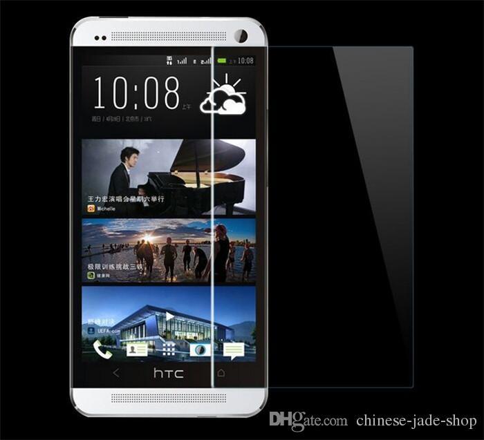 Para htc 10 m9 m8 a9 x9 desejo 12 plus desejo x10 9 h premium 2.5d protetor de tela de vidro temperado 200 pçs / lote