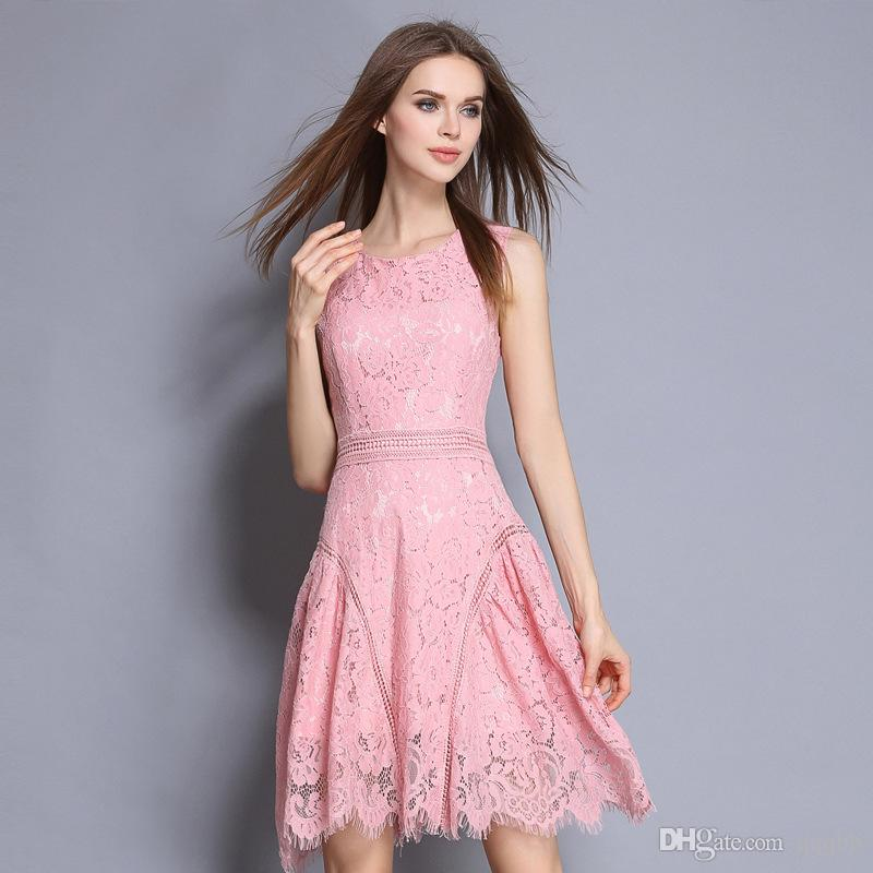 Compre Vestidos De Verano Para Mujeres 2017 Mini Vestidos De Fiesta ...