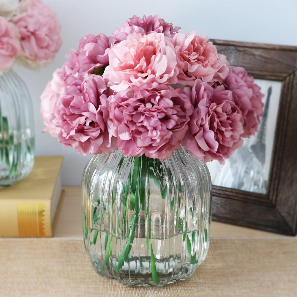 2018 cute silk artificial flowers cheap hydrangeas peony flower silk 2018 cute silk artificial flowers cheap hydrangeas peony flower silk bouquet artificial flowers for decoration wholesale from kevinbing 897 dhgate izmirmasajfo