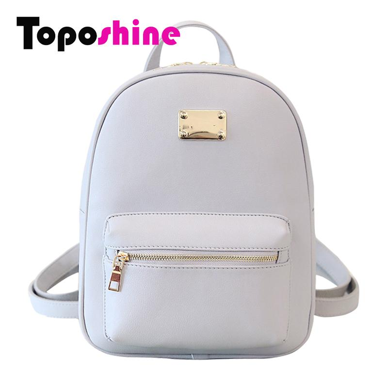 Wholesale Toposhine Fashion Women Backpack For Girls 2016 Backpacks Black  Backpacks Female Fashion Girls Bags Ladies Black Backpack 1538 Backpacks  For ... 25a1074afed5d