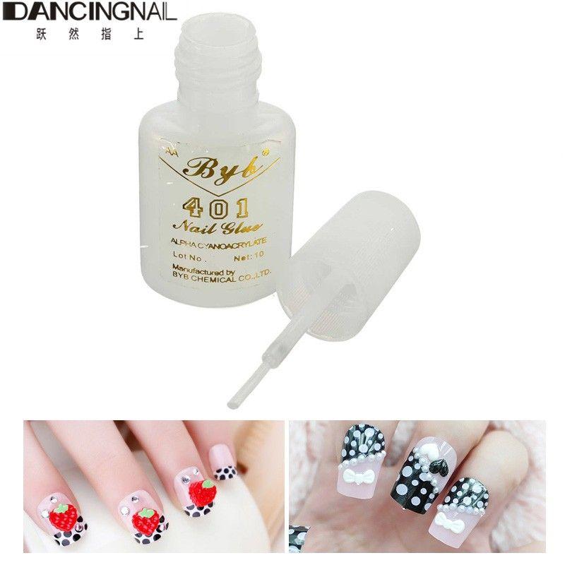 Wholesale-Nail Art Glue Tips Glitter Uv Acrylic Rhinestones ...