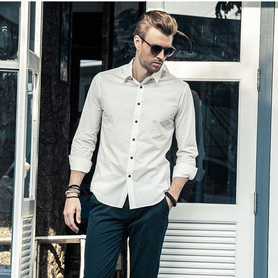 Großhandel Casual Shirt Männer 2017 Shirts Prints Männer Kurzarm ...